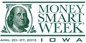 Money Smart Week 2013 Iowa logo