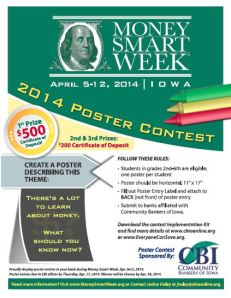 MSW 2014 Poster Contest Flyer