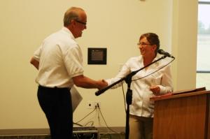 Craig Goettsch receives Jump$tart membership award